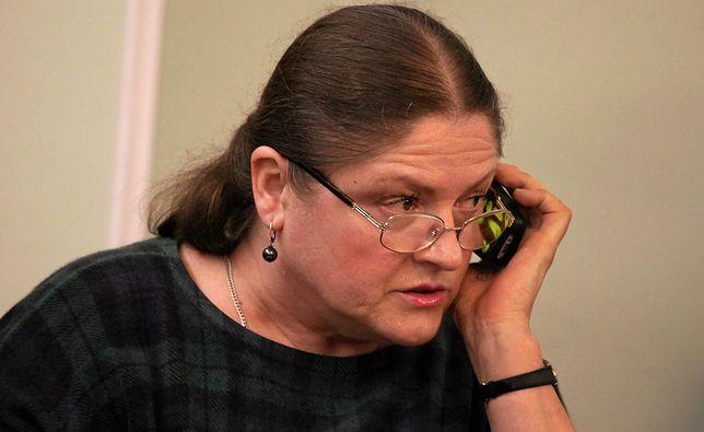 Krystyna Pawłowicz zapewnia, że mają z siostrą wspólne poglądy