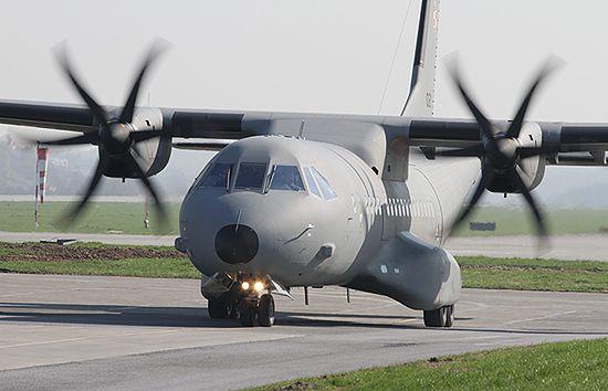 """Czeska CASA """"sparaliżowana"""" w locie; lądowanie się udało"""