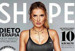 "Dominika Grosicka kusi ciałem na okładce magazynu ""Shape"""