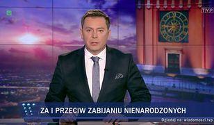 """Według """"Wiadomości"""" TVP protestujących było tylko kilka tysięcy"""