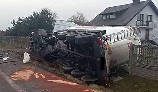 Łódzkie. Tragiczny wypadek na DK74