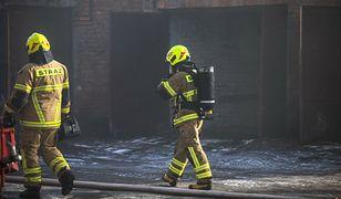 Pożar na terenie elektrowni w Bełchatowie