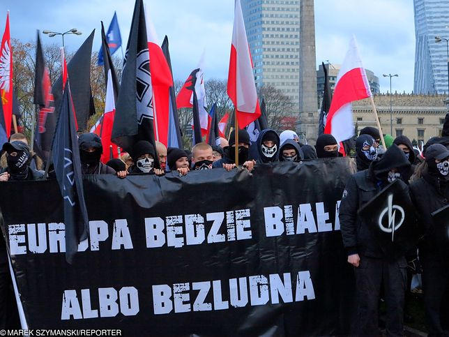 """""""60 tys. nazistów maszerujących w Warszawie"""". Stanowcza reakcja marszałka Senatu"""