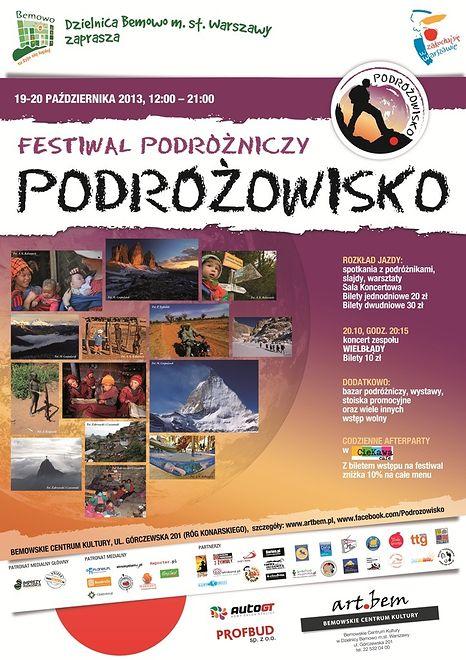 """Festiwal podróżniczy """"Podróżowisko"""""""