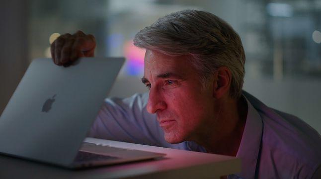 Kadr z prezentacji Apple MacBook Air