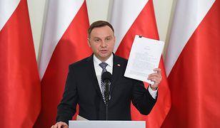 O projektach ustaw ws. sądownictwa, przedstawionych przez Andrzeja Dudę, piszą amerykańskie media