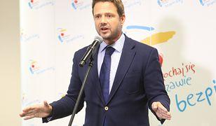 Czajka. Rafał Trzaskowski zabiera głos ws. wydatków.