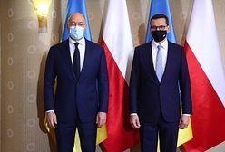 Morawiecki spotkał się z premierem Ukrainy. Głównym tematem m.in. sprawa bezpieczeństwa