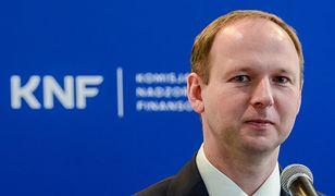Marek Chrzanowski przewodniczący Komisji Nadzoru Finansowego