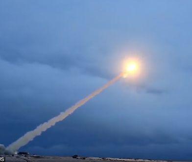Test nuklearnej rakiety manewrującej Buriewiestnik