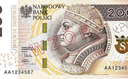 Banknot 200 zł po liftingu już wkrótce w obiegu