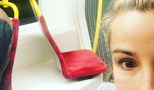 Joanna Brodzik wychwala stołeczne tramwaje w mediach społecznościowych