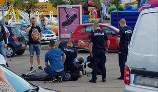 Policyjny pościg w Markach. Policja zatrzymała trzech Gruzinów
