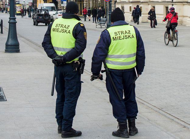 Straż miejska ujęła sprawcę