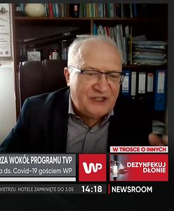 """Skandal po programie TVP o pandemii. Prof. Simon: """"Ktoś musi interweniować"""""""