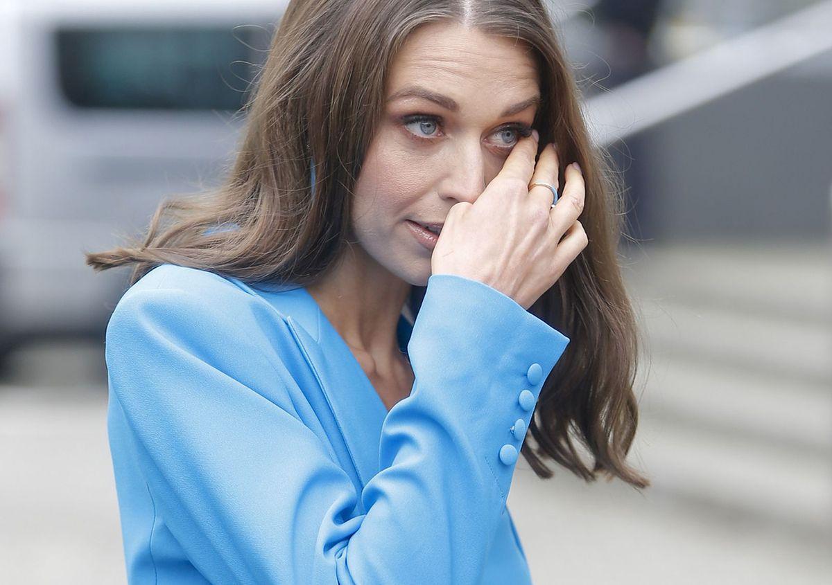 Julia Kamińska nie może zmienić fryzury