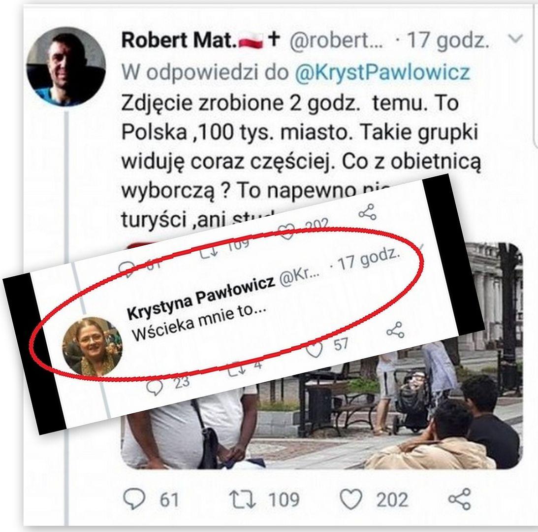 """Krystyna Pawłowicz znów uderza w imigrantów. Krytykuje Szwecję, """"wścieka ją"""" też to, co dzieje się w Polsce"""