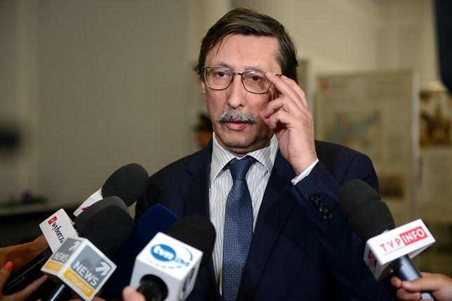 Jan Żaryn złożył poprawki do ustawy degradacyjnej. Odbieranie nie tylko stopni wojskowych