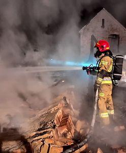 Pożar we Władysławowie. Ratownik SAR stracił dorobek życia