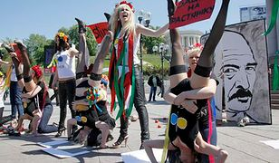 Feministki strzelały do Łukaszenki