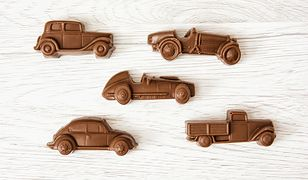 Autka z czekoladowej masy to prawdziwy prezentowy hit