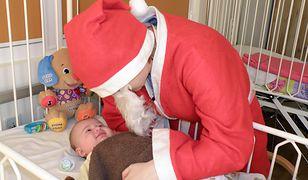 Św. Mikołaj odwiedził małych pacjentów szpitala przy Niekłańskiej