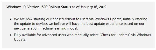 Windows 10 zaczyna trafiać do użytkowników automatycznie, źródło: Microsoft.