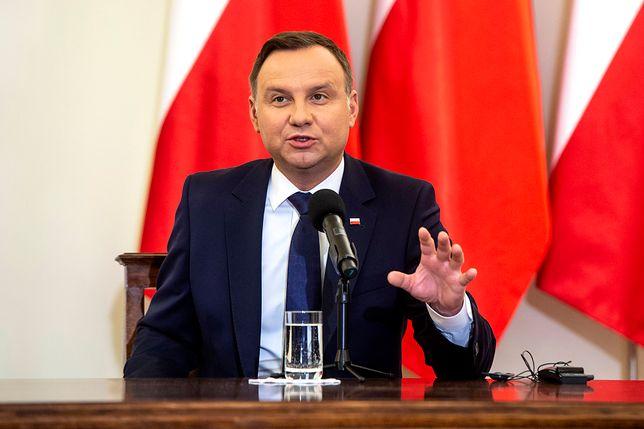 Andrzej Duda rozpocznie wizytę w USA w środę
