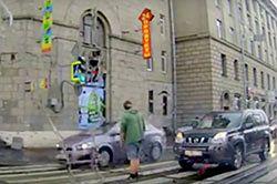 #dziejesiewmoto [176]: zlekceważony pieszy, pirat na skrzyżowaniu i fatalne parkowanie