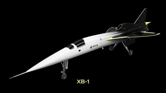 Ponaddźwiękowy Boom XB-1.