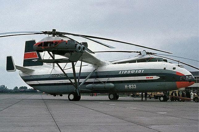 Mi-12: radziecki helikopter-kolos