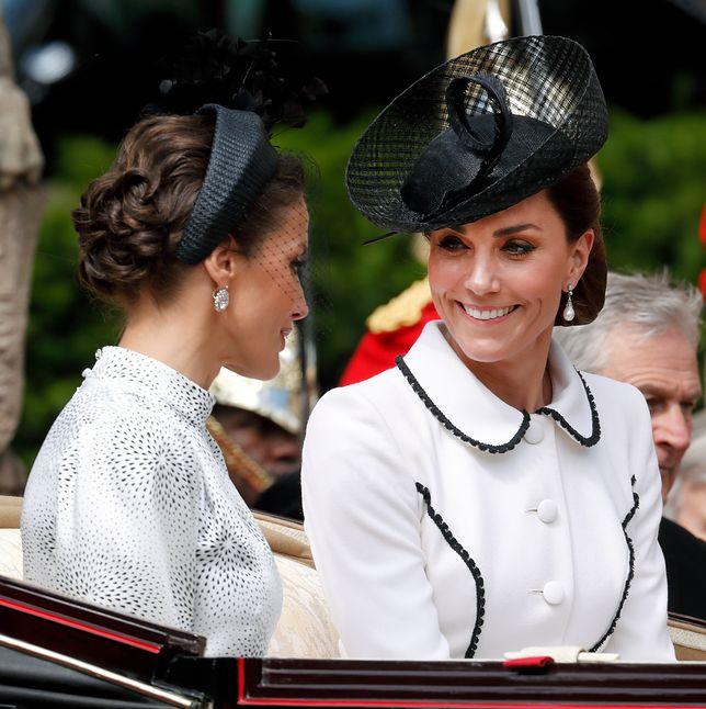 Księżna Kate z królową Hiszpanii, Letizią