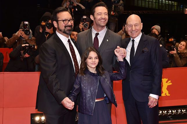 the 'Logan' premiere during the 67th Berlinale International Film Festival Berlin at Berlinale Palace on February 17, 2017 in Berlin, Germany.