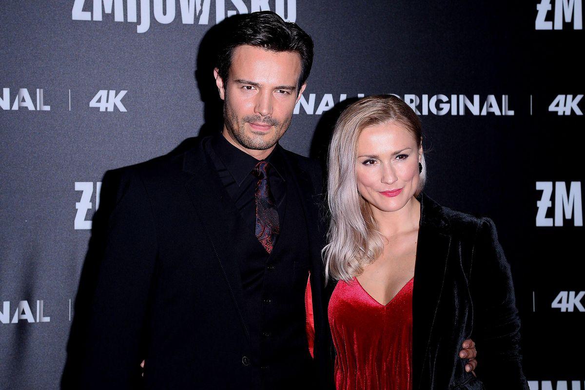 Mikołaj Krawczyk i Sylwia Juszczak