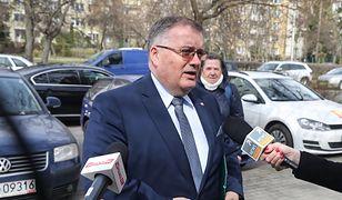 """Minister Andrzej Dera mocno o Lisińskim. """"Ci ludzie to cwaniaki"""""""