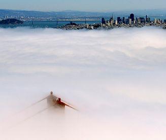 Golden Gate we mgle