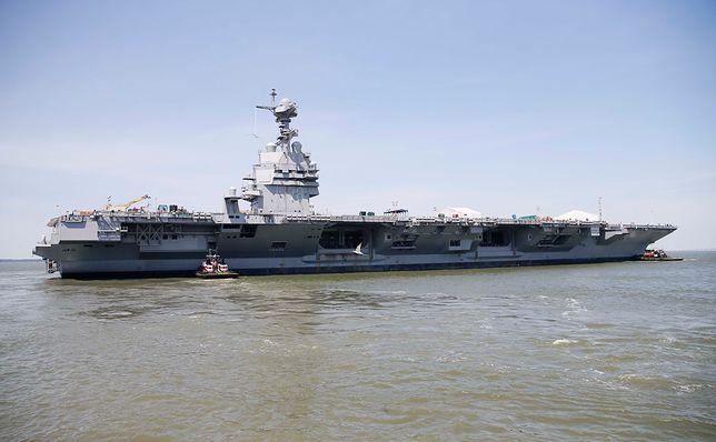Korea Płn. deklaruje gotowość ataku na amerykański lotniskowiec