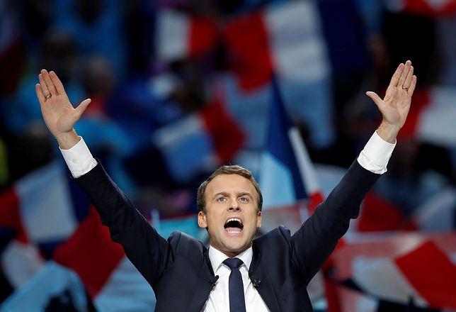 Macron i Le Pen w drugiej turze wyborów prezydenckich we Francji