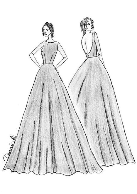 Projekty sukni dla Ewy Mielnickiej na Miss International 2015