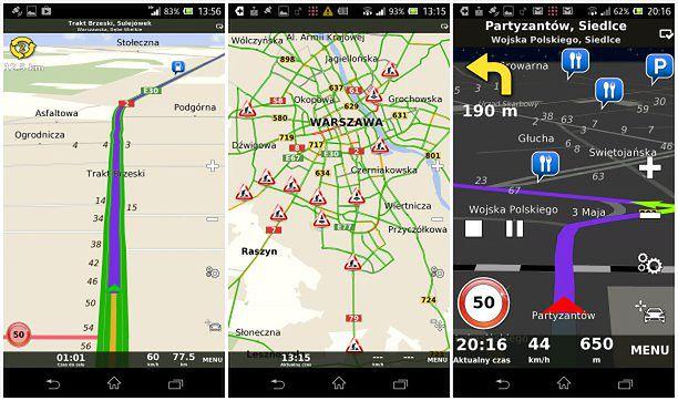 Nawigacja Navmax na Android - test aplikacji