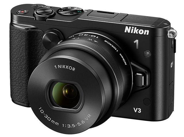Nikon 1 V3 - szybki kompakt z wymienną optyką