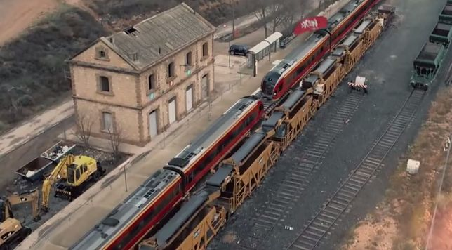 Łódzkie pociągi w akcji