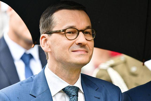 Premier Mateusz Morawiecki zachęca Internautów do spotkania na Facebooku