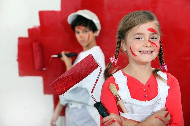 Farba tablicowa - oryginalny pomysł na dekorację ściany w pokoju dziecka