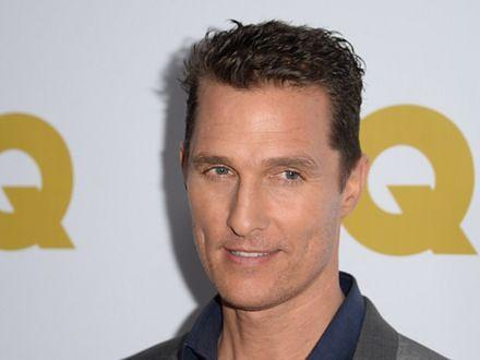 Matthew McConaughey z trudem przytył