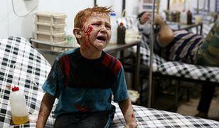 Bombardowania w syryjskich miastach