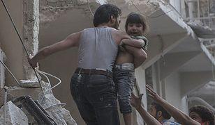 Bomby beczkowe masakrują syryjskich cywilów. Czy ONZ powstrzyma naloty?