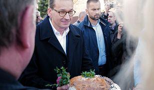 Premier Mateusz Morawiecki prowadzi kampanię wyborczą na Śląsku.