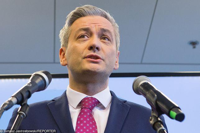 Robert Biedroń przygotowuje się do wyborów. Wiadomo, kiedy rozpocznie kampanię do PE