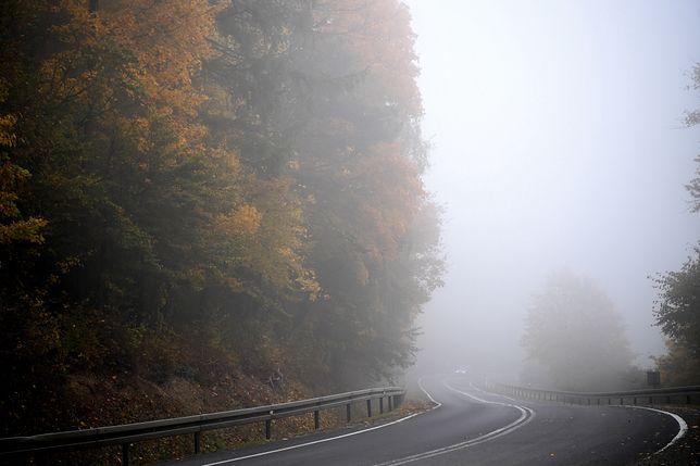 Chmury i mgły w Polsce